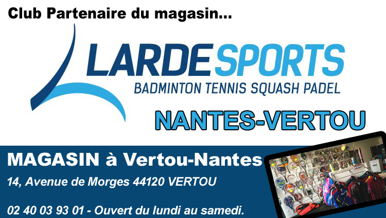 Larde Sport - Partenaire RACC Badminton